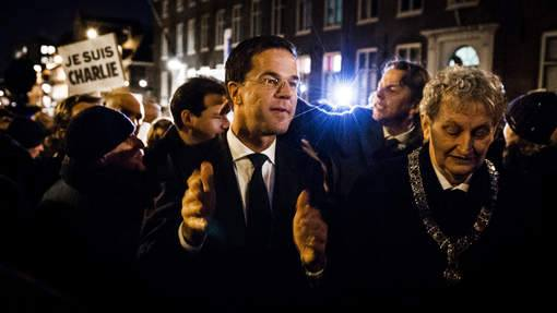 Mark Rutte speech n.a.v. aanslag Parijs op Charlie Hebdo