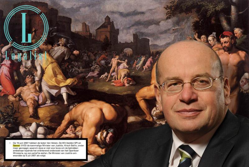 Fred Teeven, hoeder van de pedocratie