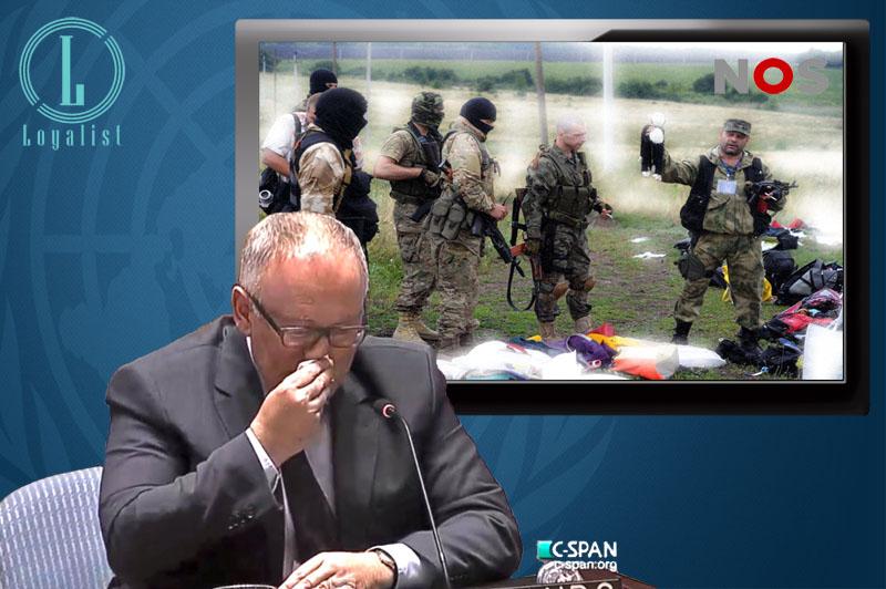Frans Timmermans jankend bij de VN.